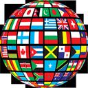 pays drapeau international